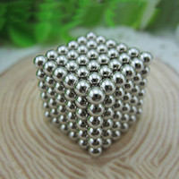 Wholesale Play Balls Kids - 2017 new Barker ball 3mm216 magic magic ball Baki magnetic ball cube children puzzle creative blocks to play toys stress relieve