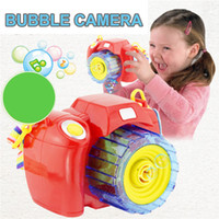 Big Kids blow machine - Funny Bubbles Camera Modeling Blowing Bubbles With Light Music Electric Bubbling Bun Toy For Children Camera Shape Soap Kids Bubble Machine