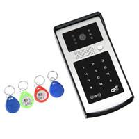 Wholesale Family Monitoring - WIFI Video Doorphone Outdoor Monitor Intercom RFID & Code Keypad Doorbell Camera Apply to Families floors villas apartments