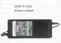 Wholesale Vaio Notebooks - Original 19.5V 6.2A VGP-AC19V15 AC Adapter for sony VAIO VGN-AR130G Series Notebook