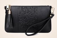 Wholesale Lady Tassel Shoulder Bag - New printing fashion handbags shoulder small Messenger bag chain ladies package bag