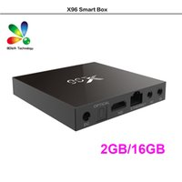 Wholesale android tv box quad core airplay for sale - Group buy X96 G G S905X TV BOX K Android Amlogic S905X Quad Core H Media Player Marshmallow Miracast Airplay DLNA