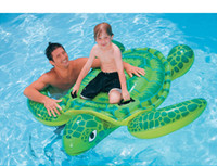 Barato Tubo Da Natação Passeio-Verão Kids Adult Inflatable Float Tubes Sandbeach Raft Air Mattress Water Swim Ride-On Pool Brinquedos de praia Swimming Float DHL / Fedex Ship
