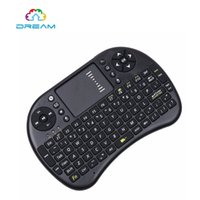 Vente en gros - Mini I8 Clavier sans fil 2.4ghz English Air Mouse Keyboard Touchpad Remote Control pour Android TV Box et Tablet Mini PC