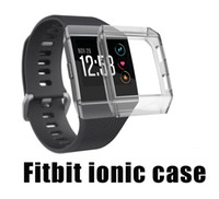 relógio inteligente ultra fino venda por atacado-Substituição Ultra-Slim TPU Proteger Capa Do Caso Para Fitbit Ionic Relógios Inteligentes