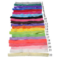 Wholesale Wholesale Foe Headband - 1.5cm Width Interchangeable Elastic Headbands,FOE Headband for Newborn Baby Toddler baby girls hair accessorise