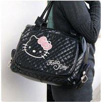 olá vaquinha bolsas para compras venda por atacado-Novas bolsas de Ombro Sacos para as mulheres Olá Kitty bolsa branca / bolsa de ombro bolsa PU Zipper Frete grátis HK0012