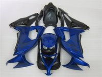 Wholesale Kawasaki Ninja Blue Paint - New ABS bike Fairing Kits Fit For kawasaki Ninja ZX10R ZX-10R 2008 2009 2010 08 09 10 bodywork Set free custom paint blue black flame