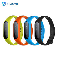 Vente en gros- Teamyo Y2 Plus Smart Band Pulse Heart Rate Fitness Tracker Smart Bracelet Dispositifs portables Sleep Monitor pour Android IOS Phone