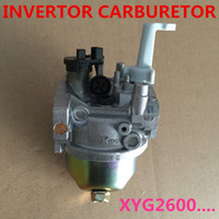 Wholesale inverter generators - Ruixing inverter CARBURETOR FITS for Chinese inverter generators,XYG2600I(E) 125CC XY152F-3 CARBURETTOR REPLACE PART model 127
