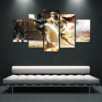 Wholesale 5pc Canvas Art - 5PC Large The US HD Print On Canvas Oil Painting Home Wall Bedroom Deco Art Oil Painting Modern Abstract Oil Painting Poster 5 styles