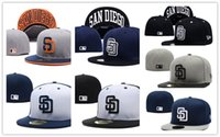 padres baseball hats - 2017 New style baseball hat San Diego Padres adjustable baseball Fitted hats Fast recovery baseball CAPS Snapback Hats Caps