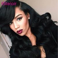 "Wholesale Elite Virgin Brazilian Hair - Wholesale-Brazilian Virgin Hair Body Wave 50g Lot 8A Human Hair Brazilian Hair Weave Bundles 8""-28"" Elite Hair Brazilian Body Wave 1 Piece"