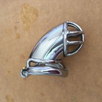 Wholesale Steel Chastity Device For Sale - New Fashion Stainless Steel Male Fetish Chastity Device,Cock Cages,Men's Virginity Lock,Penis Ring,Penis Lock,Adult Game Cock Ring For Sale