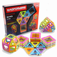 Wholesale Magnetic Baby Toys - MAGFORMERS Magnetic film 30 slice Ferris wheel Changeable lifting toy for baby toy XT