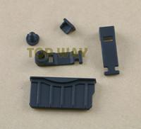 kulaklık jakı prizi toptan satış-Yeni 3DS XL LL Yeni 3DSXL 3DSLL Dock Kanıtı Koruyucu Cap Şarj Silikon Anti Toz Tak Kulaklık Jack