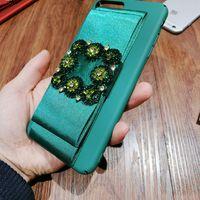 Wholesale Bow Phone Cases - Satin bow phone case for apple iphone 6 6s  7 7plus 6plus 6Splus Elegant beauty protection phone cover