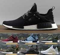 Wholesale Original Japan - Originals NMD XR1 Men & Womens 2017 Top Quality Mastermind Japan Glitch Camo Pack ultra boost man running shoes sports shoes size Eur 36-44