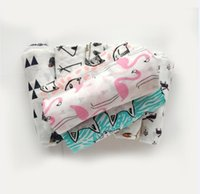 Wholesale Babies Bath Towels - Baby Muslin Swaddles Organic Cotton Wraps 31 Style Ins Blankets Nursery Bedding Newborn Ins Swadding Bath Towels Parisarc Robes Quilt Robes