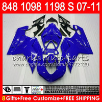 Wholesale 1198s fairing resale online - Bodywork For DUCATI gloss blue S R R NO16 S R S S Fairing Kit
