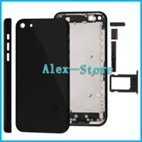 Wholesale Black Housing For Iphone C Back Housing Black Jet Black Housing for Iphone c Fast Shipping Fast
