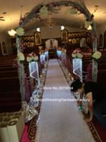 hohe kristallleuchter großhandel-Tall Crystal Kerzenhalter / Acryl Crystal Tisch Candlesticks Hochzeit Herzstück