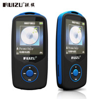 "Wholesale Voice Reader - Wholesale- Bluetooth Sport MP3 Music Player RUIZU X06 Wireless Lecteur with 4GB 1.8"" Screen   100Hours High Quality Lossless Recorder FM"