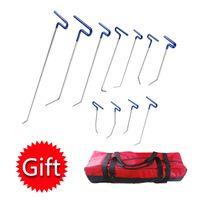 Wholesale Gift Bag Hooks - PDR Rods Hooks Car Crowbar Paintless Dent Repair Tools Dent Removal Tool Set Ferramentas +Tool Bag as GIFT