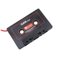 Wholesale Cassette Tape For Mp3 Player - Tape Aux Adapter Audio Car Cassette Player Tape Converter 3.5mm Jack Plug for Phone MP3 CD Player Smart Phone With 2 Colors
