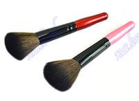 Wholesale makeup brush pack bag for sale - Group buy Rouge blush brush color wood handle Powder brush high quality Makeup tools plastic bag pack