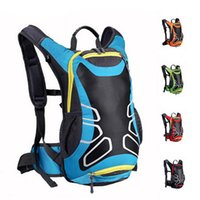 Wholesale Mountain Camping Hiking Backpack Bag - 15L Unisex Waterproof Nylon Cycling Bag Road Mountain Bike Sport Running Backpack Outdoor Hiking Sports Backpacks Large Capacity