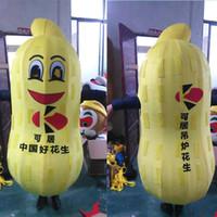 boneca de amendoim venda por atacado-Amendoim sementes de melão bonecas dos desenhos animados trajes da mascote adereços trajes frete grátis