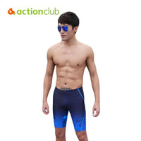 Wholesale- Actionclub Mens Swimwear Plus Size Trunks Sport Sexy Men Underwear Boxer Shorts Прохладный Высокое качество Трусы трусы SA247