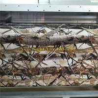 Wholesale camouflage foil car resale online - REALTREE CAMO VINYL WRAPS DECALS Camouflage Car Film Foil Air Bubble Free Nature Hunting For Truck