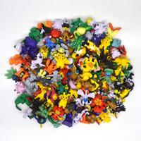 suicune figur großhandel-2017 freies Verschiffen 144 Stücke Stile Figuren Spielzeug 2-3 cm Pikachu Charizard Eevee Bulbasaur Suicune PVC Mini Modell Spielzeug für Kinder