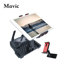 Airplanes tablet components - DJI MAVIC PRO RC Degree Rotatable Holder Extended Holder Bracket Support in Phone Tablet for MAVIC PRO Remote Controller