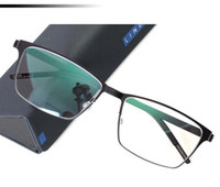 Wholesale Titanium Eyeglasses For Women - New eyeglasses frame Lindberg 9547 Spectacle Frame eyeglasses for Men Women Myopia Brand Designer Vintage Glasses frame With Original Case