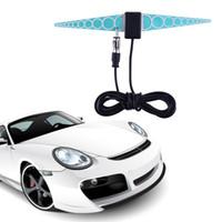 Wholesale Booster Radio - GPS Universal Car Aerial Hiden Antenna Booster FM Radio Aerials Amplifier Car TV Digital Antenna Amplification Newest 2017