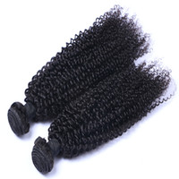 Wholesale can kinky hair weave extensions resale online - Hot Sell Mongolian Malaysian Brazilian Indian Peruvian Kinky Curly hair extension unprocessed human virgin hair weave Can Be Dyed
