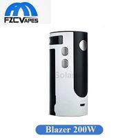 Wholesale Quick Control - Original Sense Blazer 200 Mod Temperature Control 200W Box E Cigarette Vape Mod 510 Thread Quick Charging