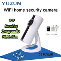 Wholesale Home Security Android - HD fisheye camera P2P Indoor mini 180 degree 2 way audio cctv panoramic panorama ip home security camera with IR-Cut