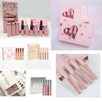 Wholesale Mini Pies - Kylieturns 20th Birthday Collection I Want It All Kylie Jenner Velvet Matte Minis Liquid Lipstick 6PCS SET CUPCAKE CHERRY PIE ULTRA GLOWS