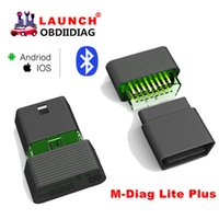 Wholesale Bluetooth Connector X431 - Launch X431 M-Diag Lite Plus For Android & IOS 2 in 1 OBD2 Scanner With 1 Free Vehicle Software Batter Than Idiag, Easy Diag2.0
