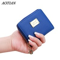 Wholesale Kawaii Card Holder - Wholesale- 2017 Lady Short Coin pouch Women wallet New Kawaii Girl Small Change purse Coin bag Embossed 3 Folds Pu leather coin purses D38M