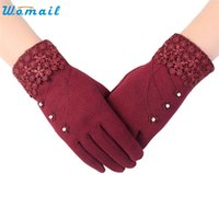 Wholesale WOMAIL delicate selling guantes calientes Womens friendly Invierno Click Screen Winter Warm Gloves luvas quentes W25
