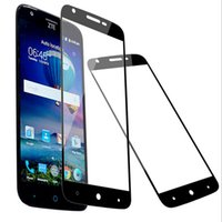 Wholesale Cheap Moto - Full Cover Tempered Glass for ZTE Max XL N9560 Zmax Pro 2 Z982 Z981 MOTO G5 Curved Cheap Screen Protector Film