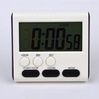 cronômetro de 24 horas venda por atacado-Temporizador multifuncional temporizador de cozinha comércio exterior Certificação CE inglês 24 horas relógio cronômetro