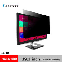 3M Qualità 19.1 pollici LCD Anti Glare Screen Protezione per la protezione per schermo 16:10 Widescreen Computer Privacy Protector 410mm * 256mm
