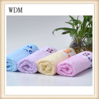Wholesale Children S Hooded Towels - 100% bamboo towel jacquard satin towel 75*34cm for face towel and softness baby towels