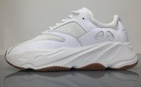Wholesale Element Shoes - AAAAA Quality Real Boost,Boost 700 Retro Elements Running Shoes,All White Color Mens and Womens Cheap Fashion Running Sneakers,Size 36-48